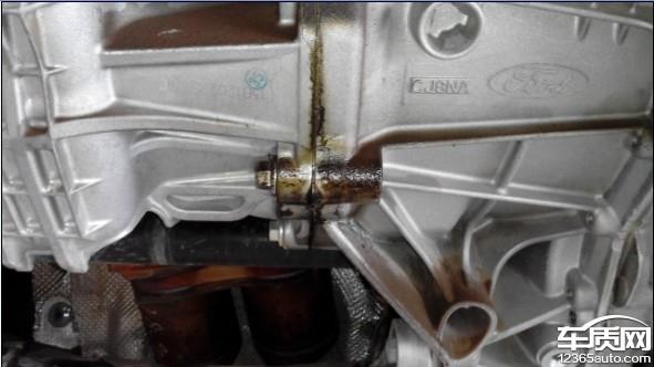 长安福特福克斯变速箱漏油严重