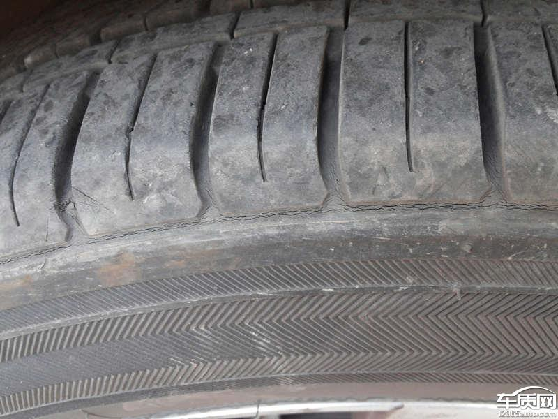 上海通用雪佛兰科鲁兹锦湖轮胎出现裂纹 - 中国汽车质量网