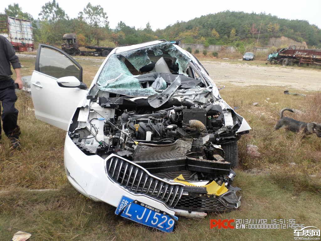 东风悦达起亚k3汽车安全气囊未爆问题