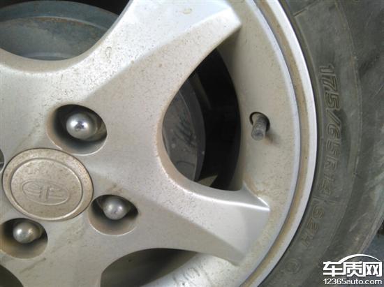 天津一汽夏利威志v5輪胎尺寸不一致高清圖片