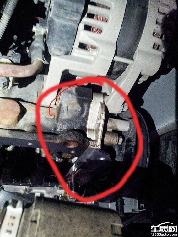 别克英朗gt变速箱发动机都漏油