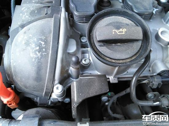 上海大众途观发动机漏油倒车雷达反应慢