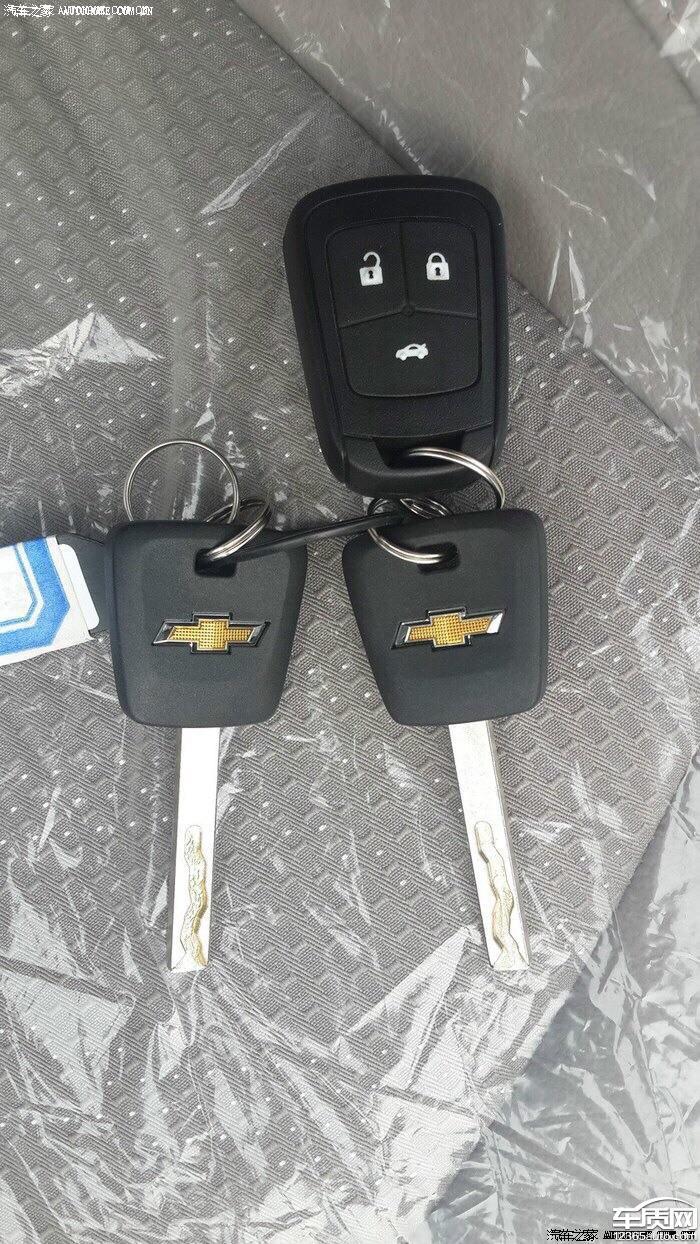 雪佛兰新科鲁兹钥匙要求通用增配一体钥匙高清图片