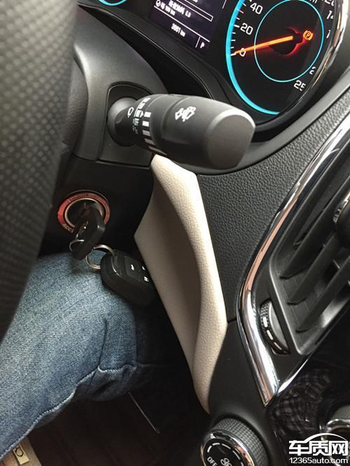 雪佛兰新科鲁兹分体钥匙存在隐患高清图片