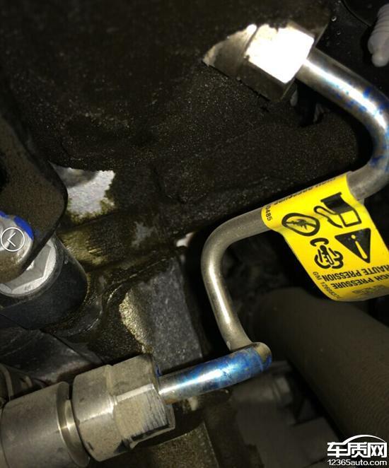 迈锐宝严重质量问题_雪佛兰迈锐宝发动机高压油泵漏油 - 车质网