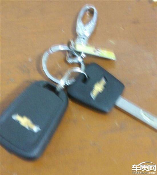 2015款雪佛兰科鲁兹分体钥匙隐患