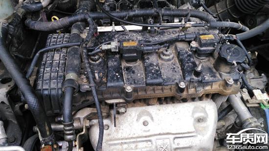 比亚迪发动机_比亚迪S6发动机盖和助力泵漏油 - 车质网