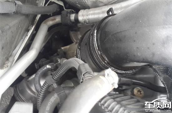上海大众途观发动机漏油