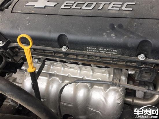 雪佛兰科鲁兹发动机变速箱渗油制动异响