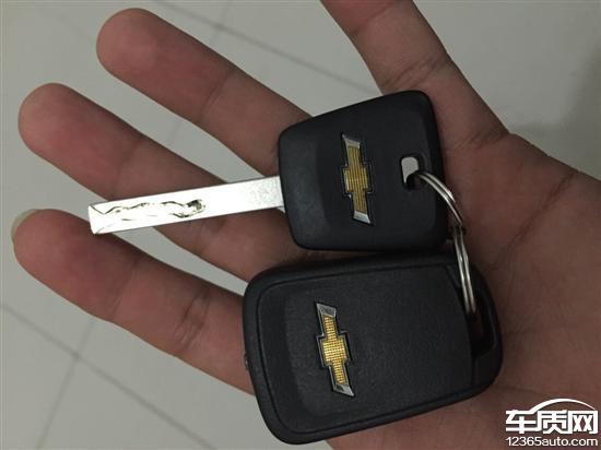 雪佛兰科鲁兹分体钥匙   钥匙为分体钥匙;但朋友提的12月份新高清图片