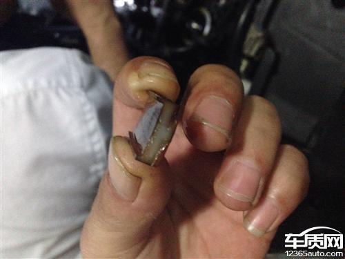 上海大众途观发动机正时错位链条跳齿