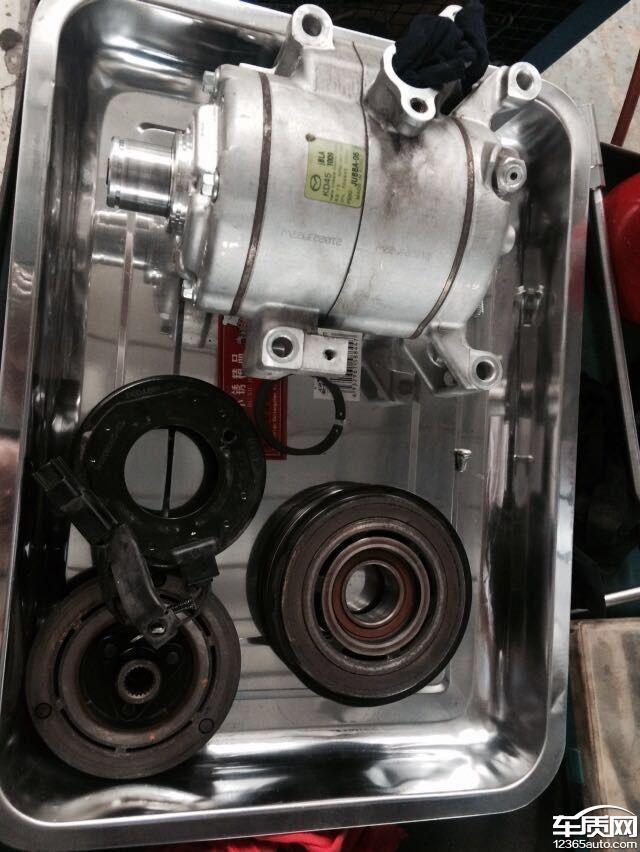 长安马自达cx-5压缩机损坏空调不制冷