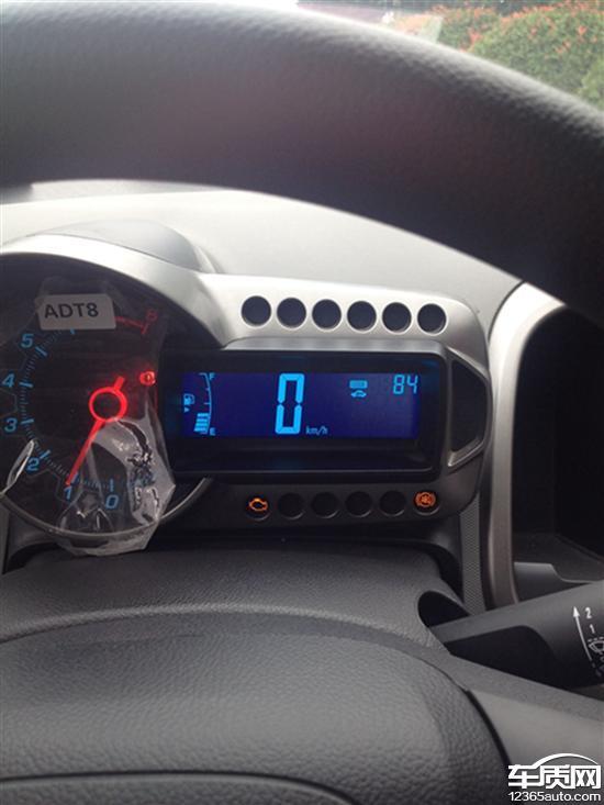 雪佛兰爱唯欧发动机和ABS故障灯亮 车质网