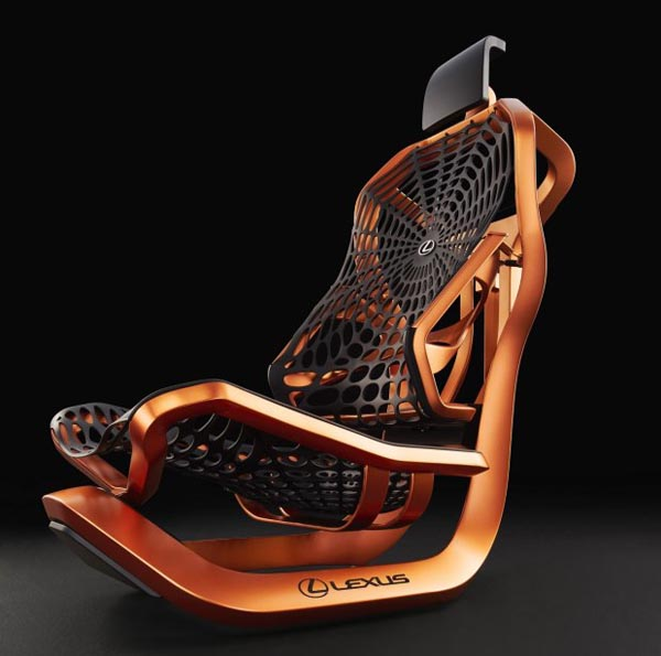 雷克萨斯设计的概念座椅,不只是好看