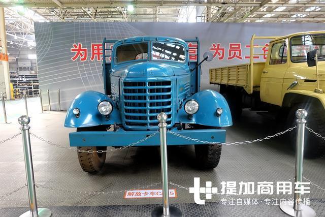 一代经典解放ca15卡车实拍