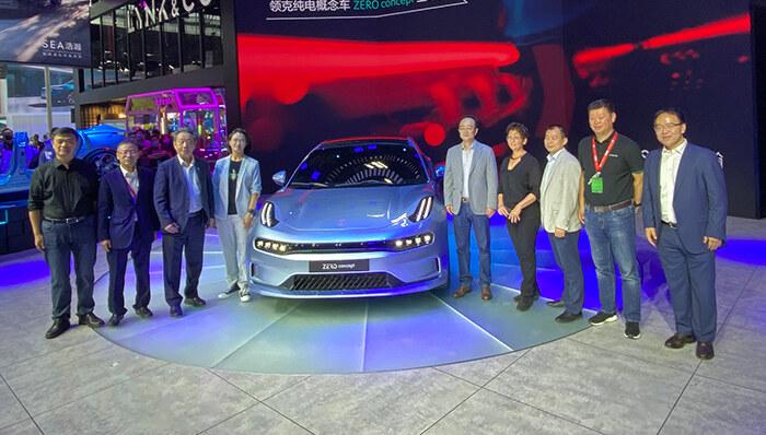 领克ZERO concept北京车展首发亮相